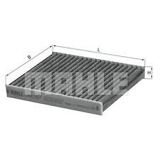 Cabine élément de filtre à air avec charbon activé-MAHLE Lak 367-POLLEN