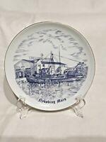 """VTG B&G Nykobing Mors ~ Bing & Grondahl Memorial Porcelain 7"""" Plate ~Circa 1961"""