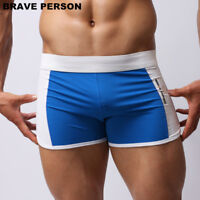 BRAVE PERSON Men Beachwear Shorts Men Sportwear Swimwear Beach Board Shorts S-L