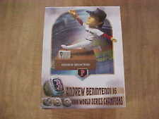 2020 Andrew Benintendi Talking 2018 World Series BobbleHeadPawtucket Red Sox SGA
