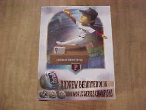 2020 Andrew Benintendi Talking 2018 World Series BobbleHeadPawtucket Red Sox SGA