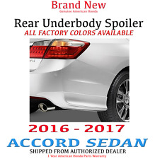 Genuine OEM Honda Accord 4 Door Sdn Rear Under Body Spoiler Kit 16-17 08F03-T2F