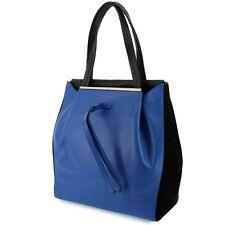 FURLA 768557 TASCHE/Bag TWIST ocean+onyx(schwarz blau) Leder