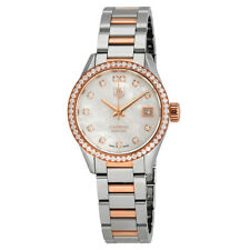 Tag Heuer Carrera Automatic Diamond White Mother of Pearl Dial Ladies Watch