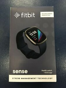 Fitbit Sense Activity Tracker Carbon Graphite Stainless Steel