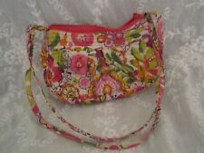 Vera Bradley Floral Quilted Small Purse/Cross body
