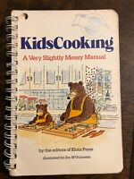 Kids Cooking : A Very Slightly Messy Manual by Klutz Editors 0932147592