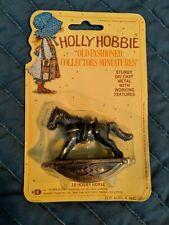 Holly Hobbie Die-Cast Metal ~ Rocking Horse ~ Dollhouse Size