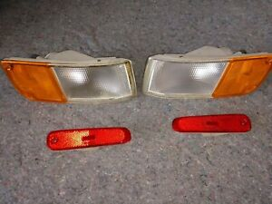 300ZX USDM Front Corner Turn Signals and Rear Side Markers Z32