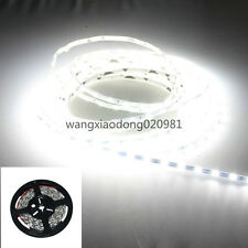 10M 2X 5mm 5730 LED Strip Pure White Light 5M 300LED Tube Waterproof 12V PCB BK