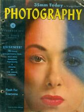 1951 Popular Photography Magazine: 35mm Today/Flash for Everyone/Collector Items