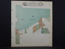 Wisconsin, Walworth County Map, 1930 Delavan Lake M4#22