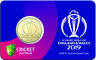ICC Cricket World Cup 2019 $1 Uncirculated Coin