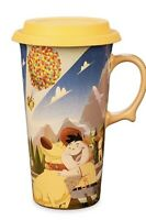 Disney Up Ceramic Travel Mug See the World By Ballon New
