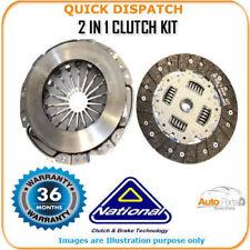 2 en 1 Clutch Kit Pour Opel Zafira A CK9473