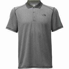 The North Face Men's XXL Horizon Polo Shirt Asphalt Grey Stripe NEW UPF50
