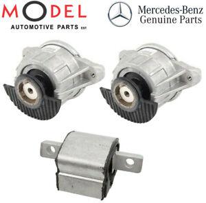 Mercedes-Benz Benz Genuine Engine & Gear Mounting Set  2042405117 / 2122401018