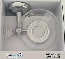 BLUE CANYON Bathroom Diamante Wall Soap Dish  [4642]