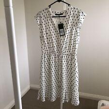 Portmans Polka Dot Dress Size 10