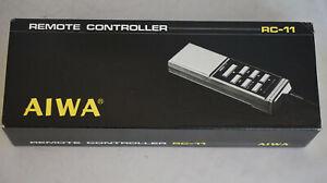 AIWA RC-11 wired remote control for AD-F990 AD-F770 AD-F660 AD3800 cassette deck