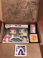 Disney Treasures Funko Pop Ever After Castle FULL BOX ARIEL, ERIC, LADY & TRAMP