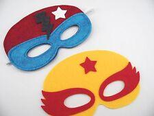 Super Hero Wool Felt Masks - Make it Yourself Jumbo Kit