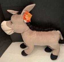 Hasbro Disney DreamWorks Shrek 2 Jumbo Large Donkey Plush  24 INCHES EUC W TAG