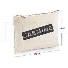 """Personalizzata MAKE UP BAG (22 cm x 16 cm) """"Reto B&W"""""""