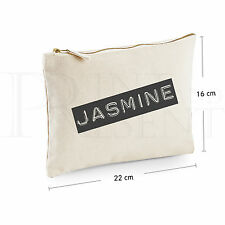 Bolsa De Maquillaje Personalizado (22cm X 16cm) son a B & W'
