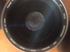 Obiettivo fotocamera digitale professionale con Macro ottime condizioni con custodia