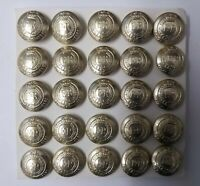 Genuine British Army Issue No1 / No2 Dress Royal Engineers Buttons 30L x25