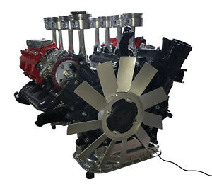 Mercedes S500 V8 Motor Motortisch Coffee Table Motorblock Tisch Engine V10 V12