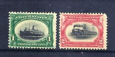 US Stamps - #294-295 - MH - 1&2 cent Pan-American Expo Issues - CV $31