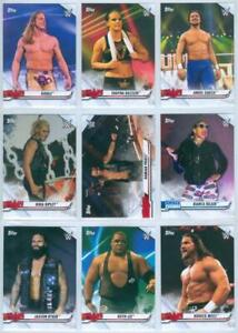 "NXT ALUMNI ""COMPLETE 9 CARD SET"" TOPPS WWE NXT 2021 Riddle Bianca Blair Ripley"