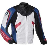 BMW Hommes Armures Moto Cuir Veste Courses Cuir de vachette Des sports Veste