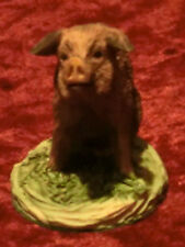 """Lowell Davis .Mini Figurine.Hand Painted.""""The Old Home Place"""".New In Box"""