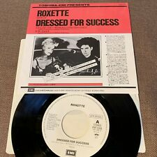 "Promo-only ROXETTE Dressed For Success JAPAN 7"" SINGLE RECORD PRP-1398 Free S&H"
