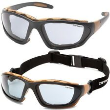 Carhartt Safety Glasses Carthage Gray Anti-Fog Lens T22007