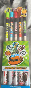 Smencils 5 Ct Scented Pencils Sports Edition
