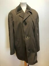 F315 MENS GEO THOMPSON & SONS MAC COLLARED LIGHTWEIGHT BROWN JACKET UK XL EU 54