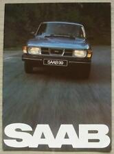SAAB 99 GL UK Car Sales Brochure 1982 #211516