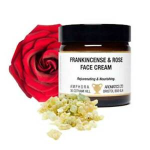 Frankincense & Rose Face Cream 60ml for Dry or Mature Skin