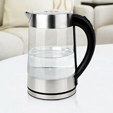 SMAL Electric Kettle Tea Maker D Lux 1.7L Stainless Steel 1500W WK0815 Brand New