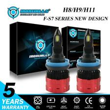 IRONWALLS H11 H8 H9 LED Headlight Kit 2100W 315000LM Bulb High Power White 6500K