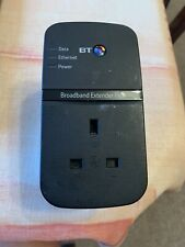 BT 500Mbps Broadband Extender Flex 500 Passthrough Powerline Ethernet Adapter