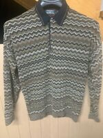 Vintage Tundra For Bachrach Biggie Cosby Sweater; Mens Large; Made In Canada