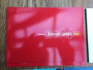 IXO 2006 Ferrari Series colour A4catalogue F1 & Road car Mansell Le Mans Surtees