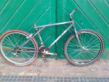 vintage GT Timberline mountain bicycle frame and parts