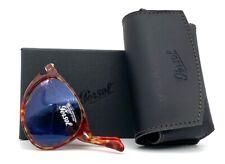 PERSOL PO9714S 106056 Tortoise Red / Blue  55mm  Folding Sunglasses