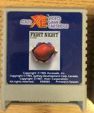 FIGHT NIGHT Cartridge Atari  64K XL/XE  Cart only NO Box